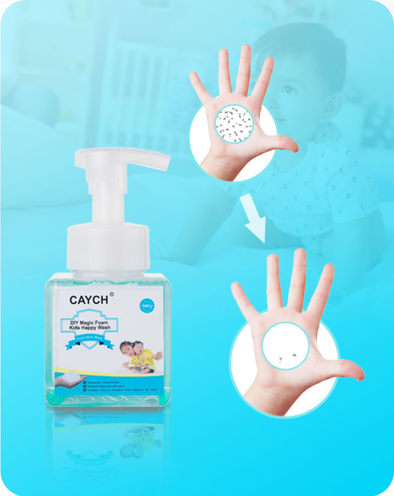 CAYCH makes children fall in love with hand washing