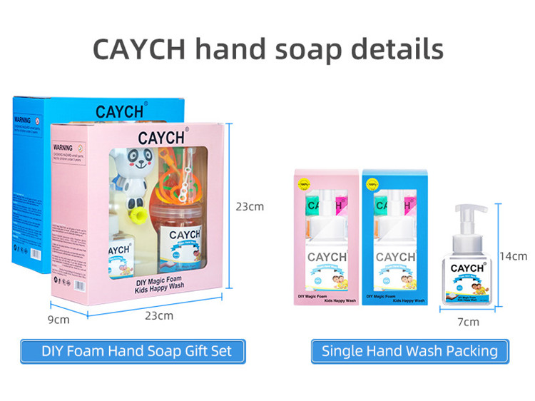 CAYCH Kids DIY Bubble toy hand soap