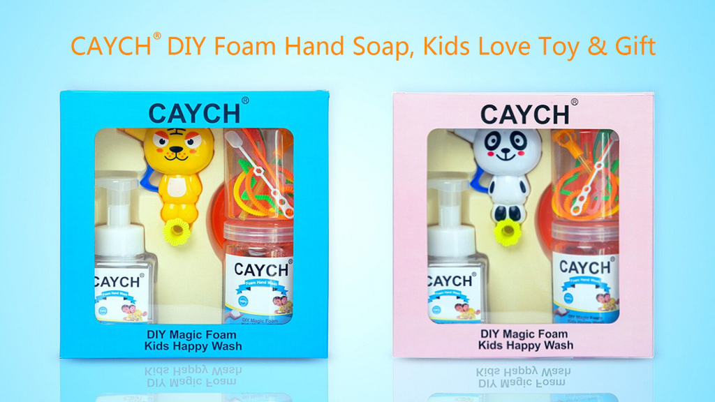 CAYCH Kids DIY bubble Toy hand soap - 2